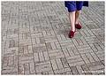 Les chaussons rouges